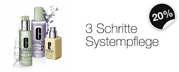 3-Schritte-Systempflege